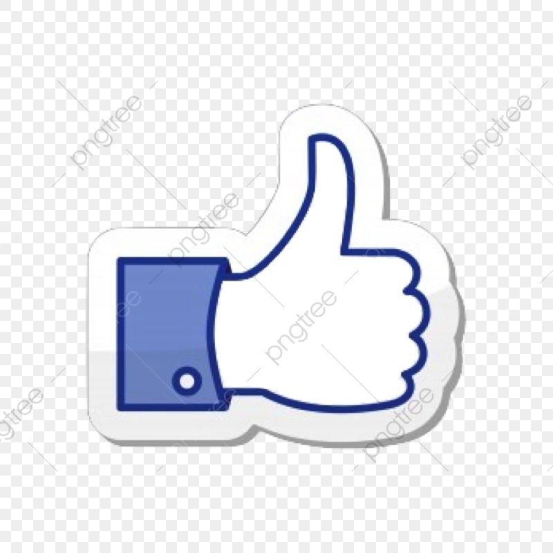 Facebook Thumb Like Thumbs Up Clipart Facebook Thumb Png Transparent Clipart Image And Psd File For Free Download In 2021 Facebook Icon Png Facebook Icons Digital Sticker