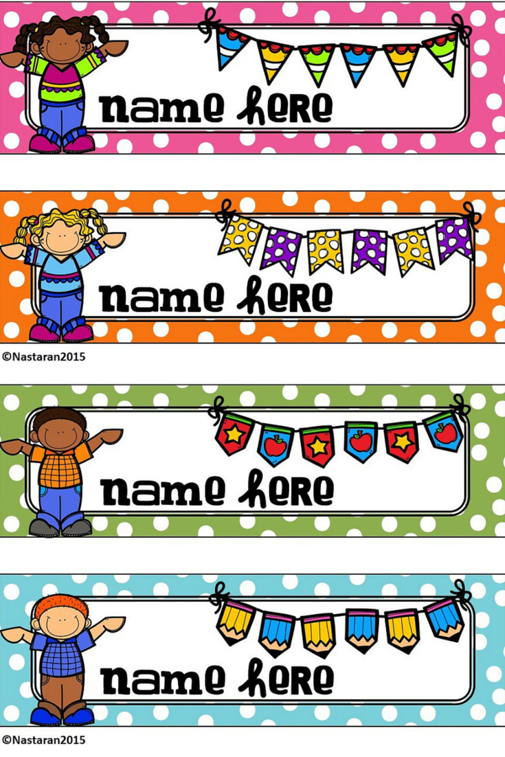 It is a photo of Lively Free Printable Name Tags for Students