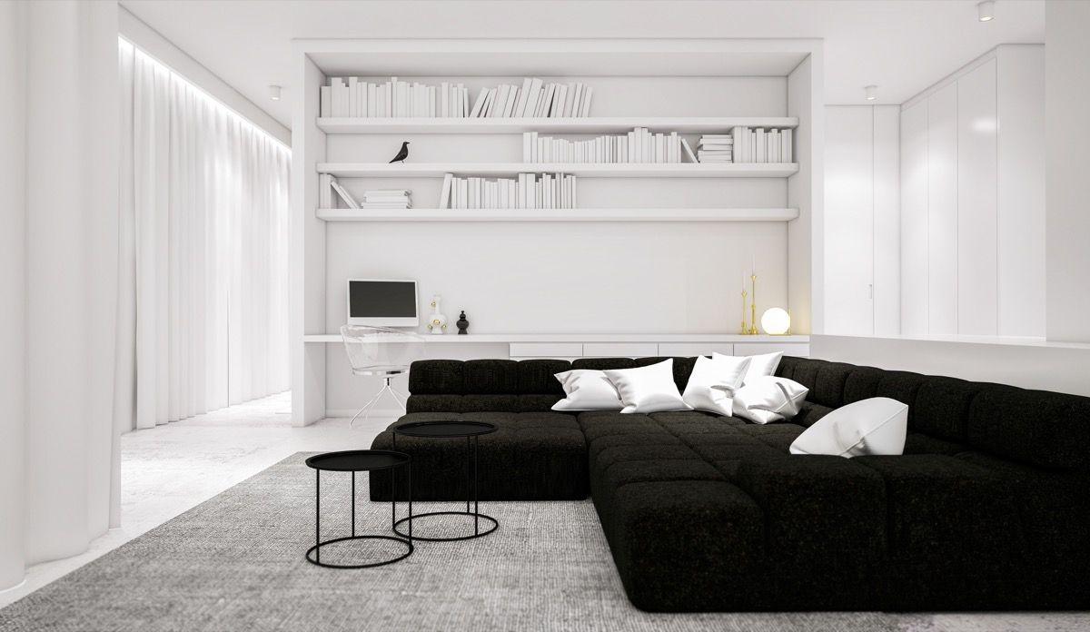 10 Minimalist Living Room Ideas 2020 Easy And Cool With Images Minimalist Living Room Monochrome Living Room Black And White Living Room