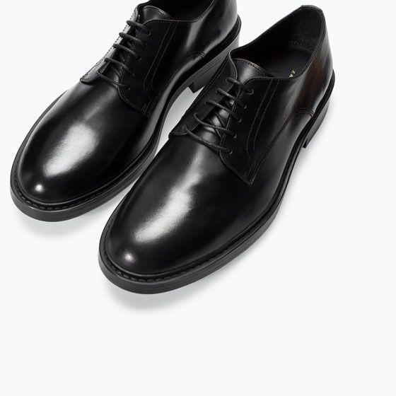 ZARA - 打折 - 皮德比鞋