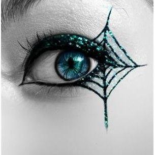 telarañas en el ojo