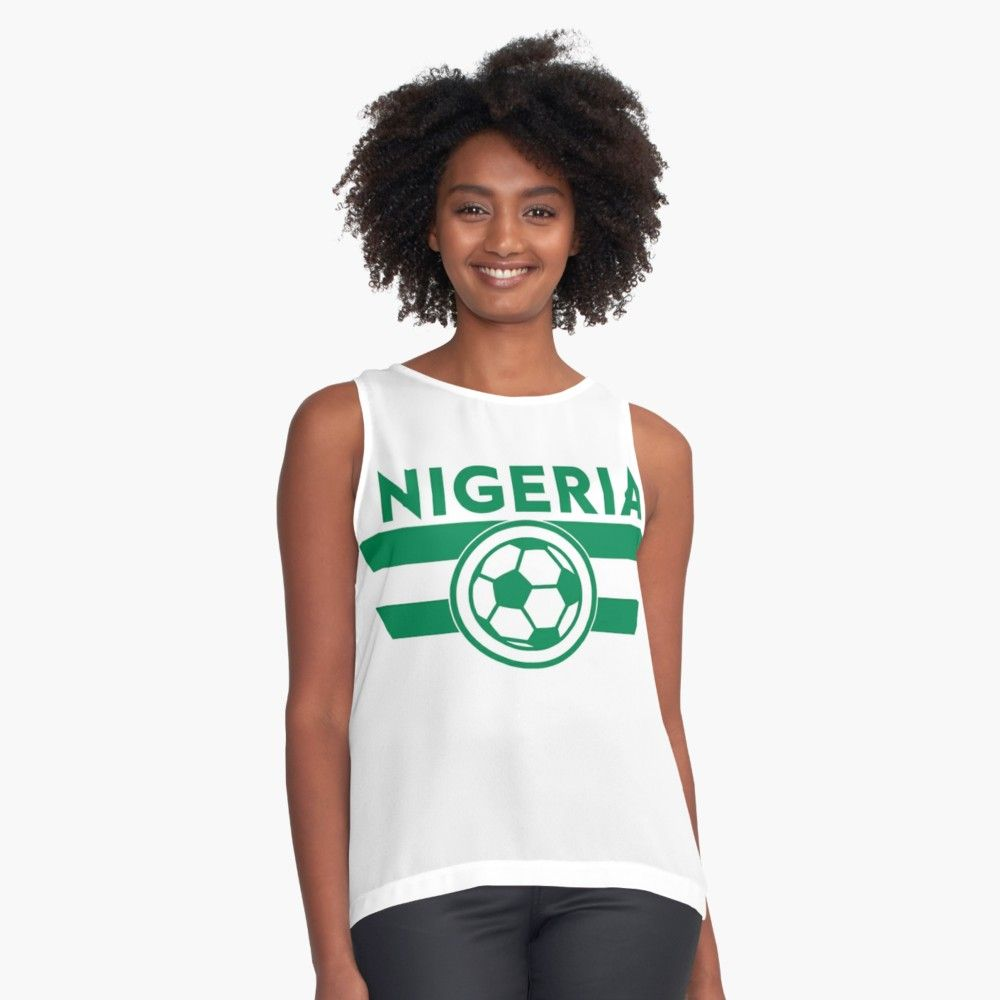 Nigeria Soccer Jersey Shirt Nigerian Super Eagles World Cup Football Fashion Big Size T Argentina 2xl Contrast Tank By 7united Redbubble