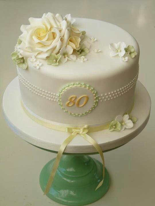 Beautiful Elegant Birthday Cakes 90th