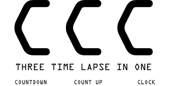 CCC Three Time Lapse In one -   codeholdernet/item/javascript