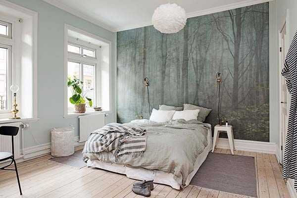 VM designblogg: Γοητευτικά Απλή Κρεβατοκάμαρα στη Σουηδία