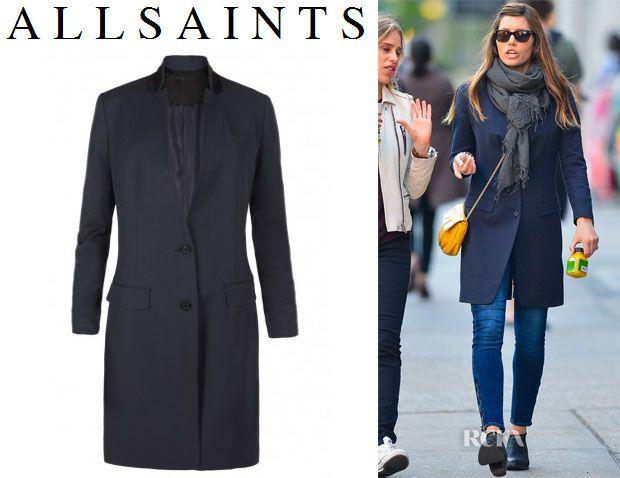 e1848a976f2b0 C'mon it's in the name- AllSaints Arielle Coat   Fashion   Fashion ...