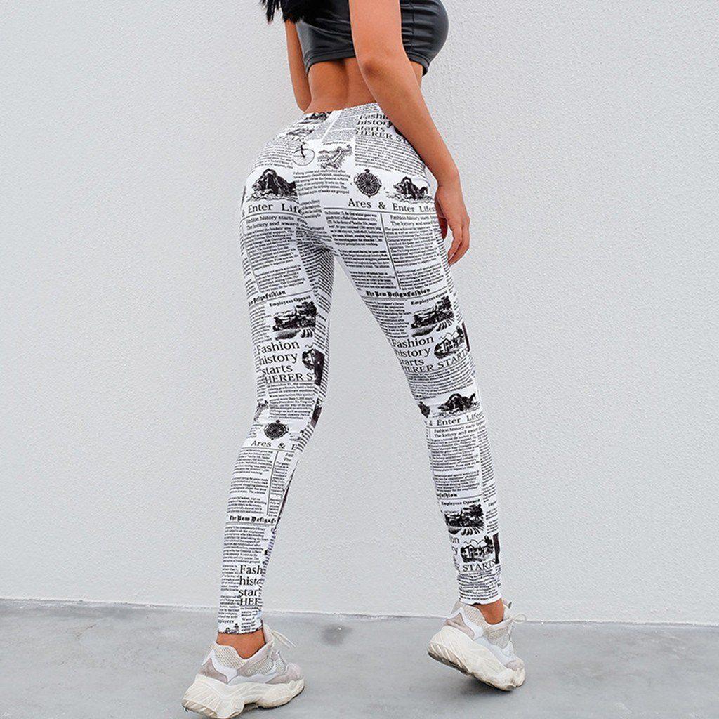 LISTHA Yoga Pants Womens Halloween Printing Tight Fitting Leggings Yoga Pants