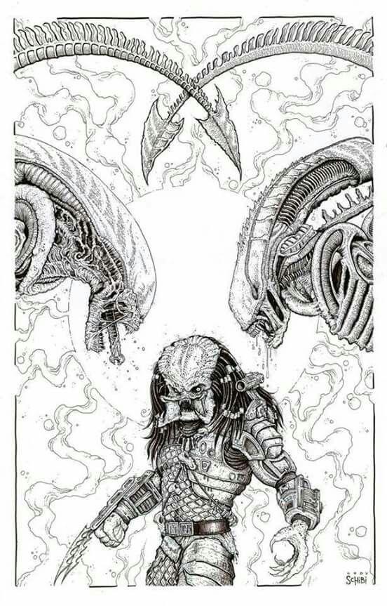 Pin de YuberNey Montoya en yu en 2018 | Pinterest | Alien vs ...