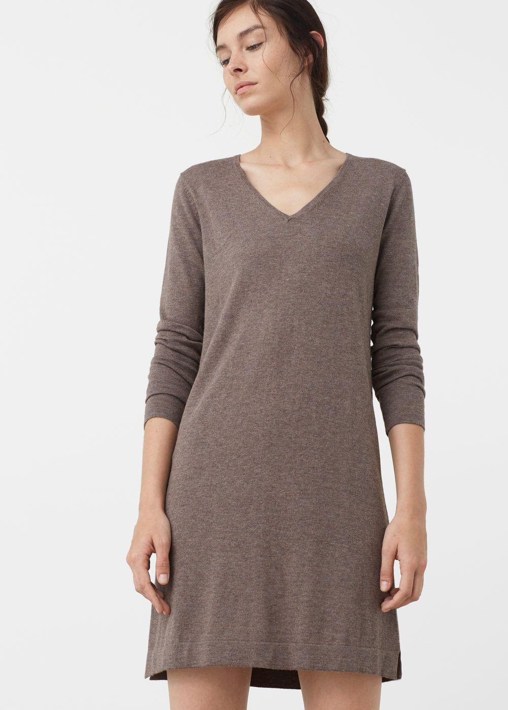 271ef00d98 Vestido punto algodón - Vestidos de Mujer