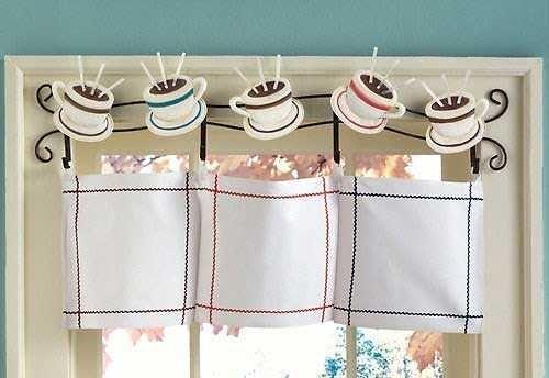 cortinas-cocina11 | Decoración de la cocina del café ...