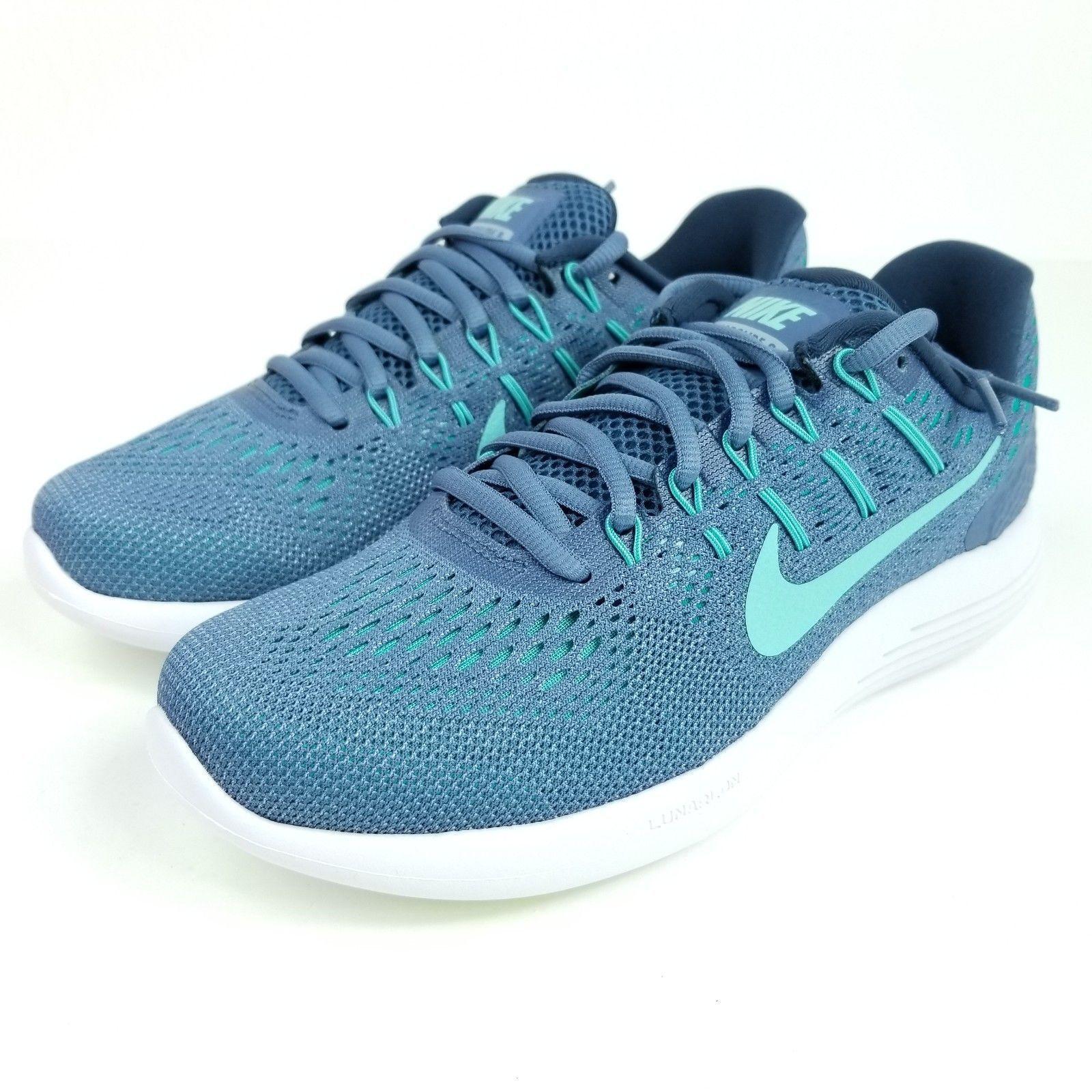 New Women\u0027s AA8677-400 Nike Lunarglide 8 Athletic Running Shoes #171125-649