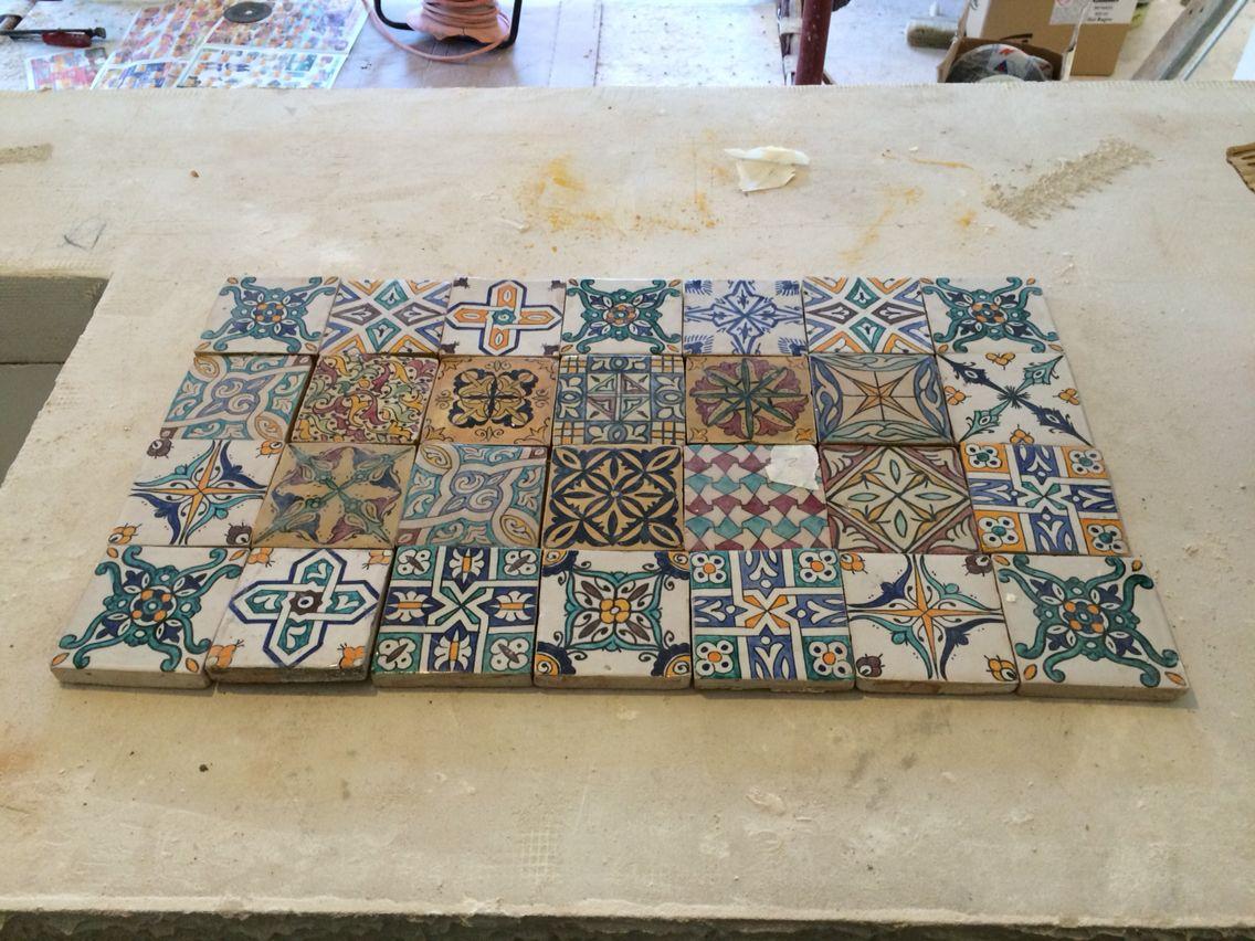 Bagno Tadelakt ~ Work in progress kitchen zelije and tadelakt tadelakt