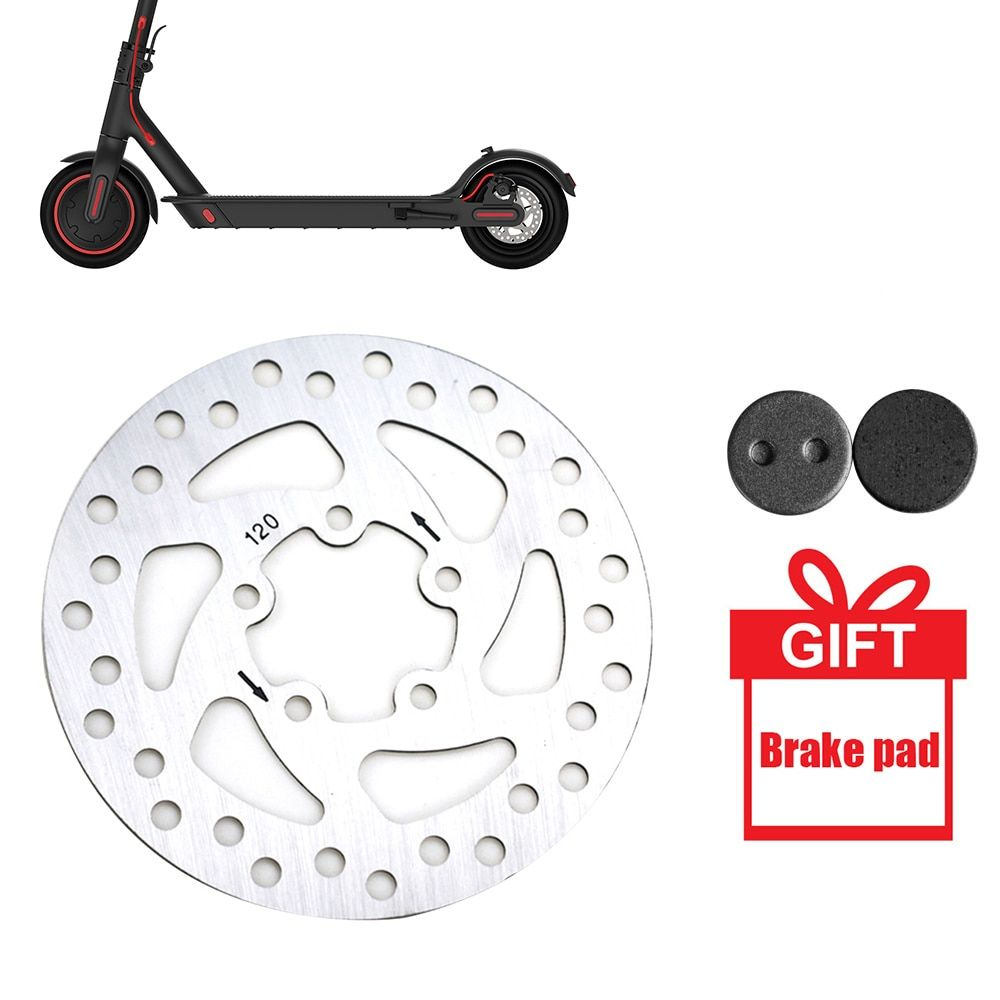 Electric Scooter Brake Disk Replacement Part 110mm For Xiaomi M365