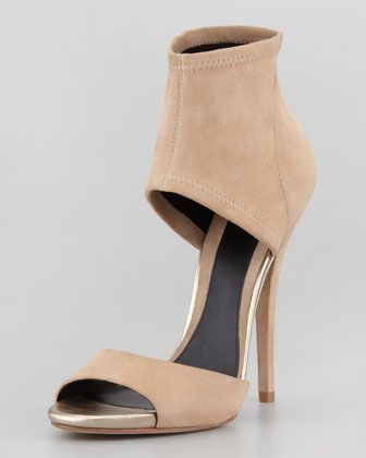Correns Stretch Band Sandal, Nude at CUSP.