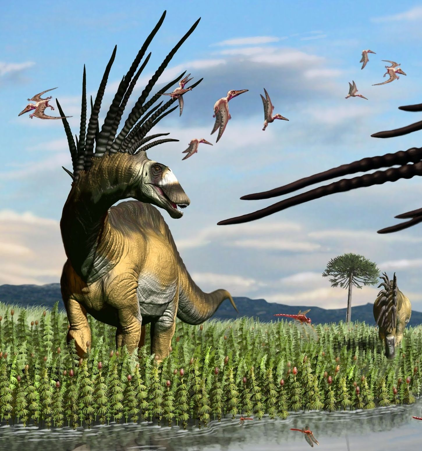 24++ Bajadasaurus pronuspinax ideas