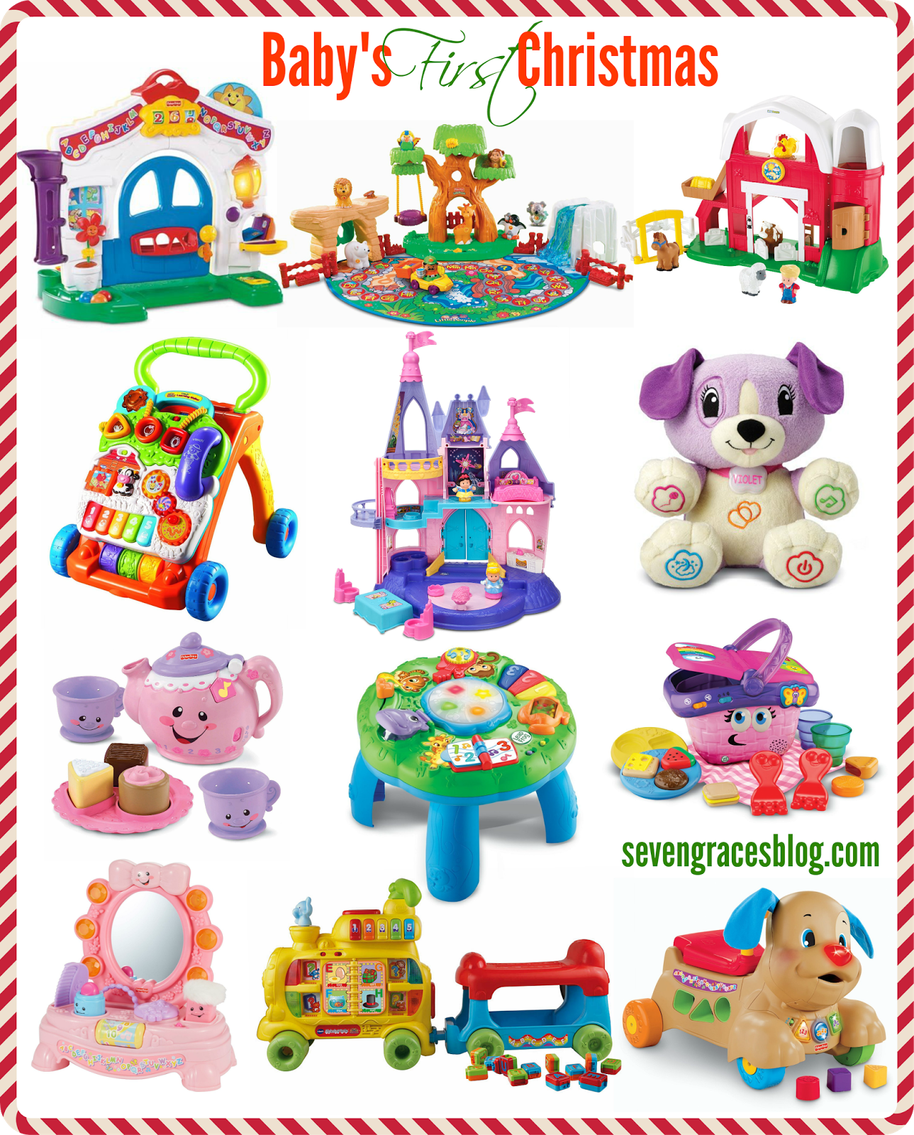 29061fc2101c Best Gifts for Baby's First Christmas #babysfirstchristmas #besttoys  #christmaswishlist #bestgifts