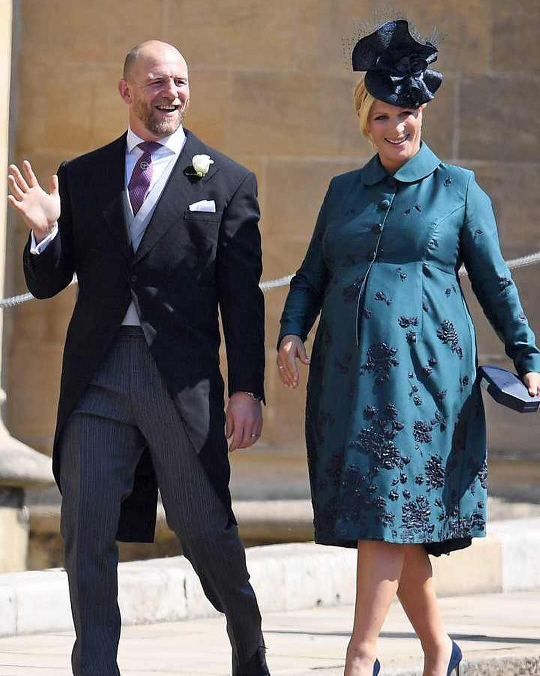 Another Royal Baby Has Arrived! Zara And Mike Tindall Have