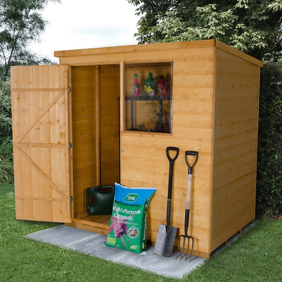 Manufactured from shiplap timber boards, this range of sheds and ...