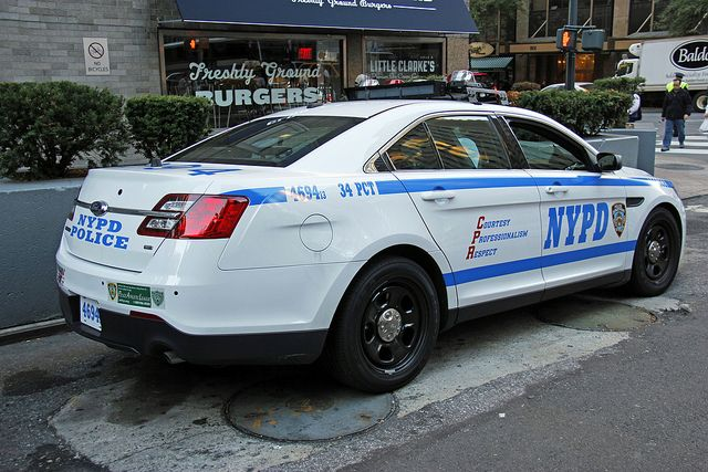 Picture Of New Nypd 2013 Ford Taurus Police Interceptor Car 4694