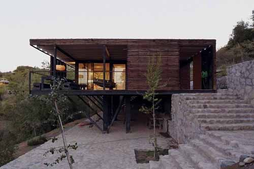 Small house in chil architecture residential for Architektur chile