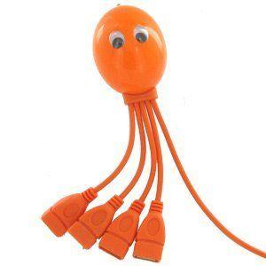 Octopus 4 Port USB Hub, High Speed, 4-Legged Octopus ...