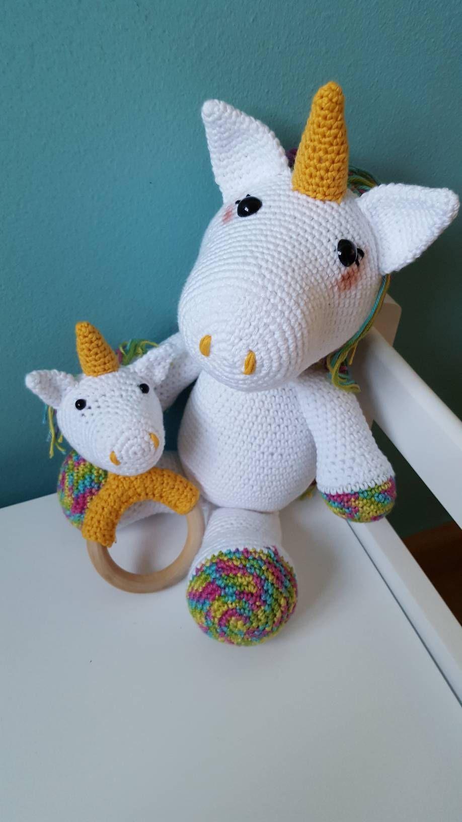 Los sonajeros tejidos al crochet personalizados para tu bebé ... | 1632x918