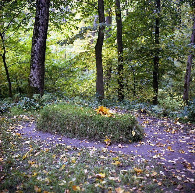 Tolstoy grave
