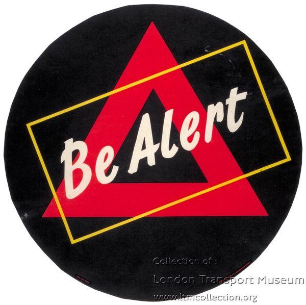 Be Alert ~ Hans Arnold Rothholz