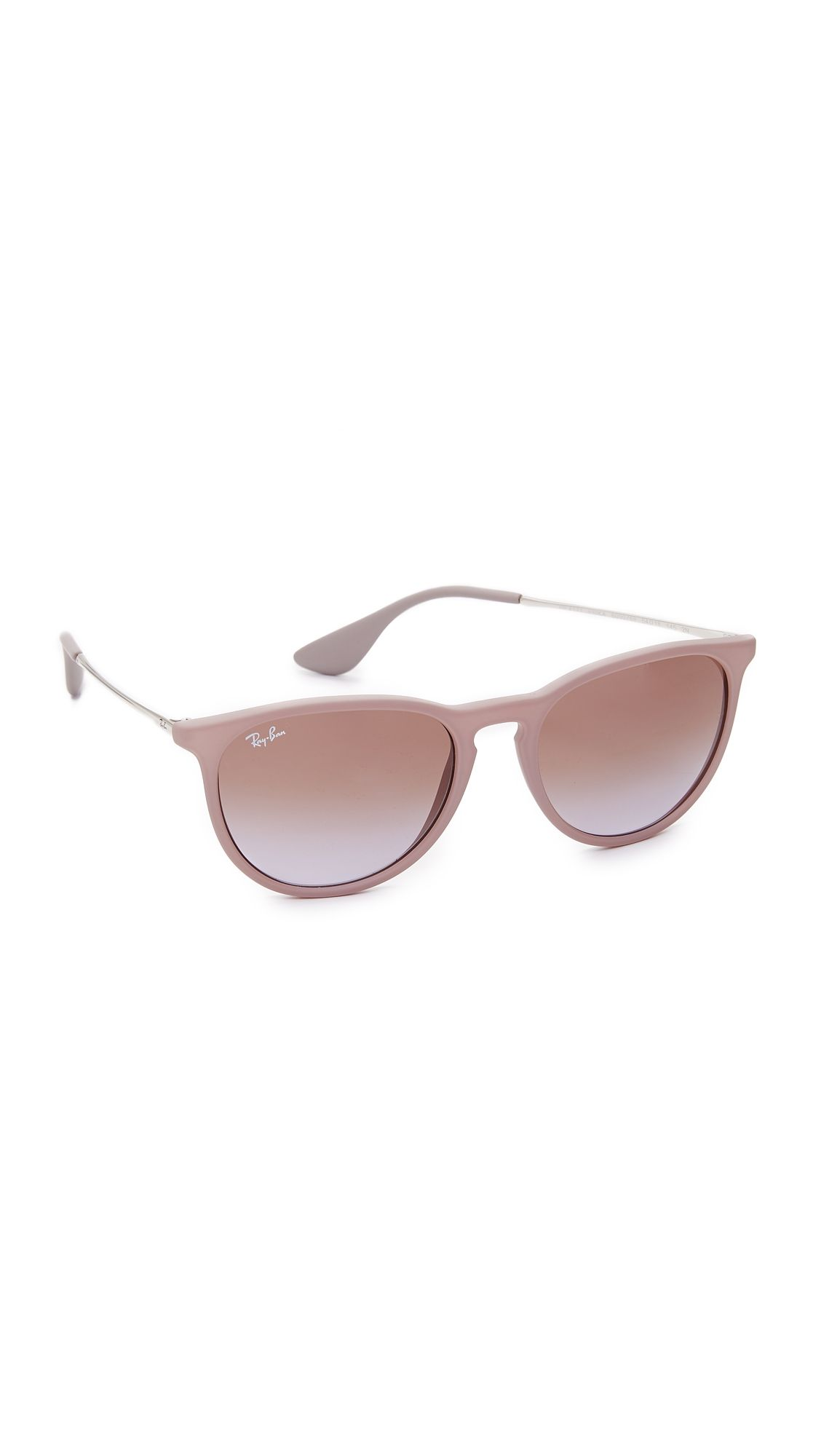 b9af77346d8d Ray-Ban RB4171 Erika Round Sunglasses in 2019