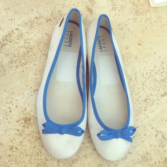 Lacoste Sport Ballet Flats Lacoste Sport Ballet Flats stylish and comfortable size 7 Lacoste Shoes Flats & Loafers