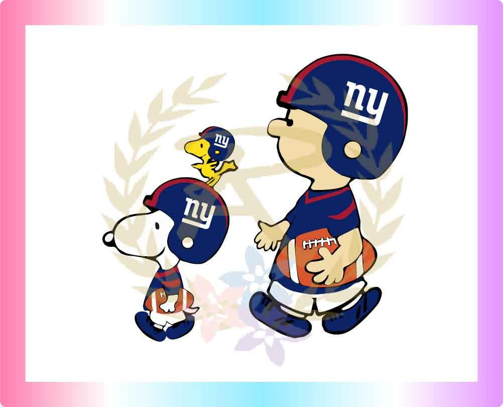 Giants Football New York Heart Sport Decal 5 X 4