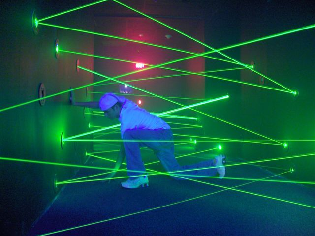 Laser Placement Let S Go To The Movies Maze