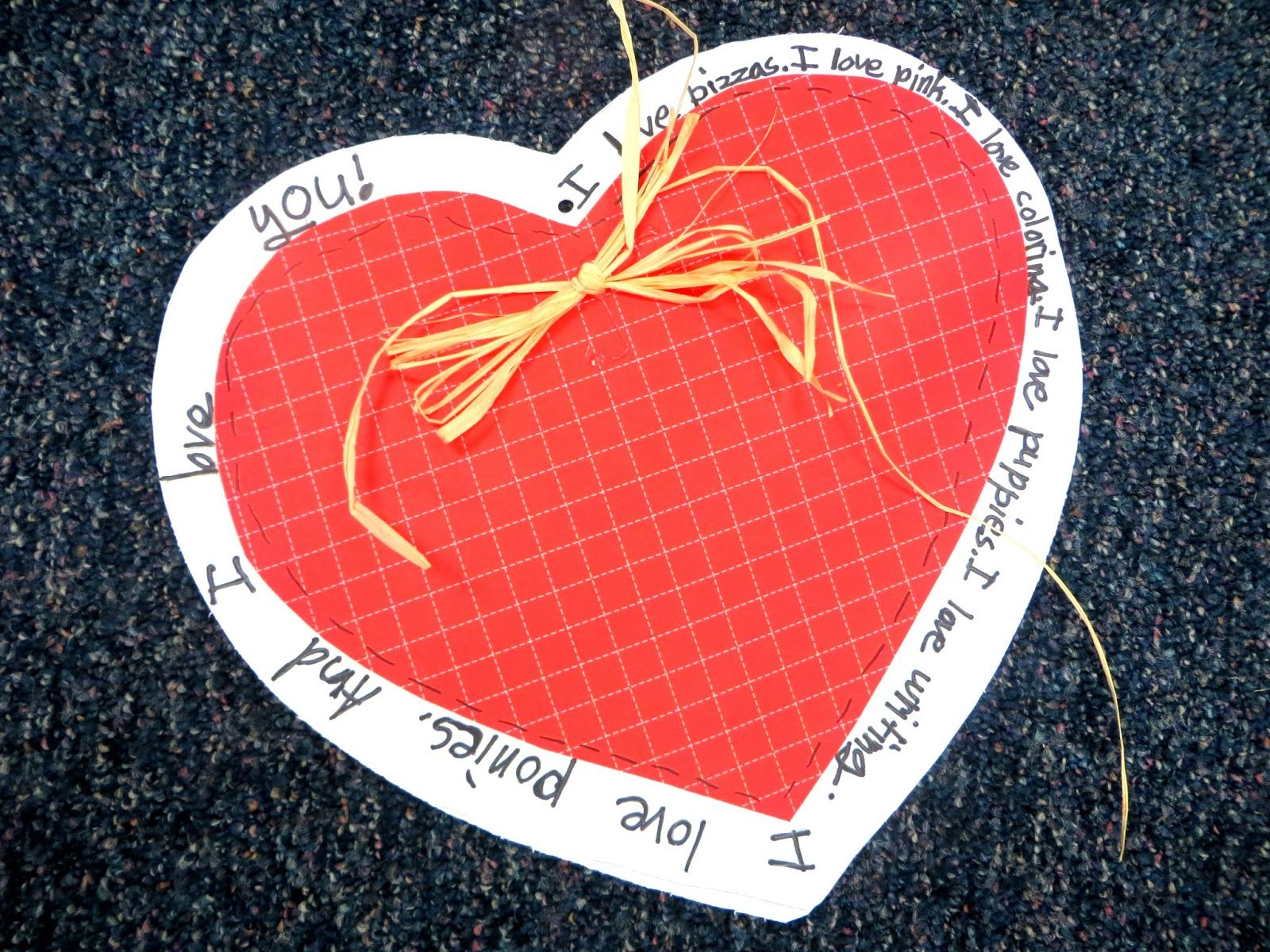 First Grade Wow I Heart Inflectional Endings Valentine S