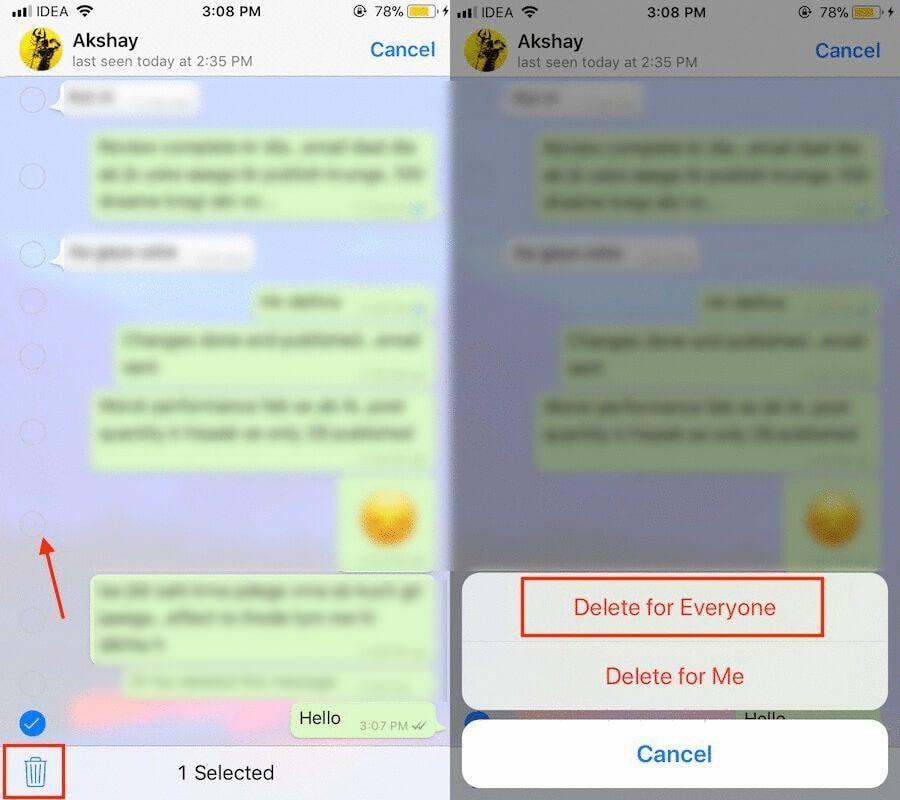 ميزة الحذف لدى الجميع في واتساب آيفون تبقي الرسائل بعد حذفها Video Chatting Blog Posts Blog