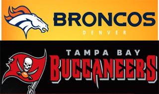 Free Denver Broncos Tampa Bay Buccaneers Fan Packs Coupons