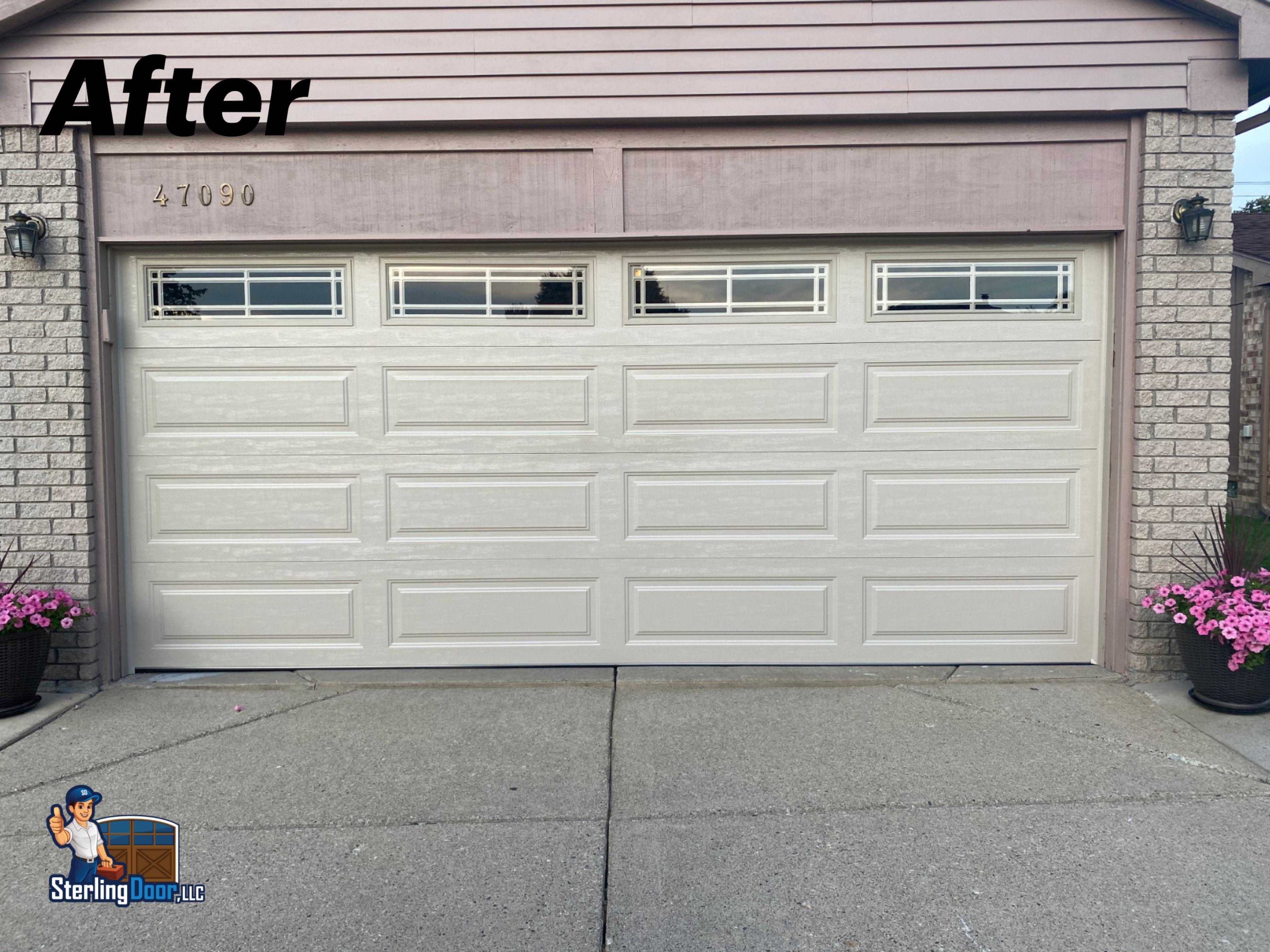 Clopay Premium Series Sterling Door In 2020 Garage Doors Doors Garage Door Repair