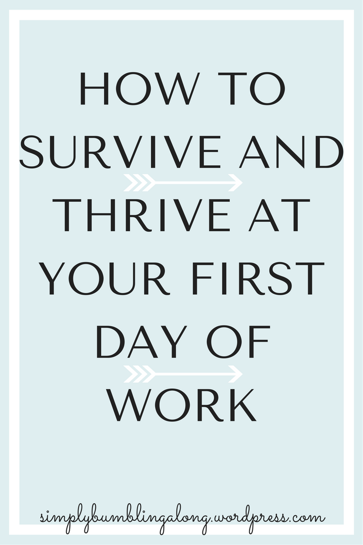 Your First Day of Work | New job quotes, First day of work ...