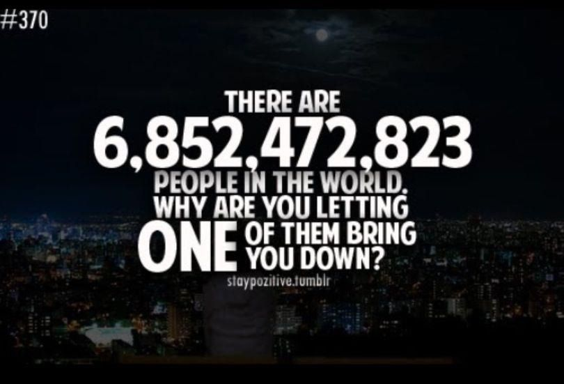 People in the world