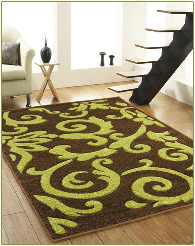 Brown And Lime Green Area Rugs Green Area Rugs Rugs Area Rugs