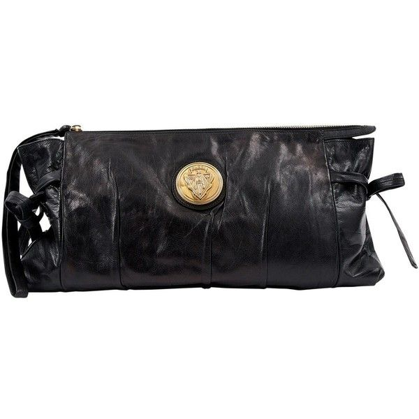 VIDA Leather Statement Clutch - Art Deco Fox by VIDA bTeAZxp