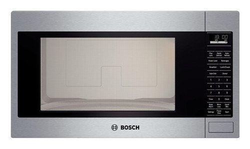 Getting Excited About Adding This Bosch Built In Microwaves To The House Soon From Pacific Built In Microwave Built In Microwave Oven Stainless Steel Microwave