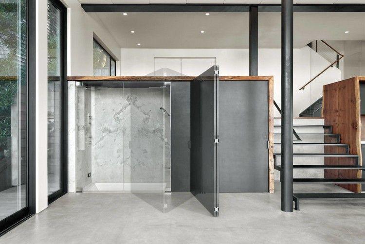 Badezimmer Falttüren Originelle Raumgestaltung Ideen #dreamhouse #wood