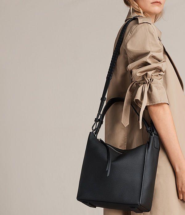 53d83b8191 All Saints | Womens Kita Crossbody Bag (Black) - Image 2 | Bags ...