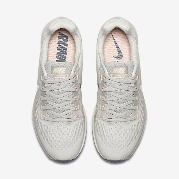 online store a443a 3f4d1 Nike Air Zoom Pegasus 34 - Light Bone/Pale Grey/Sail/Chrome ...