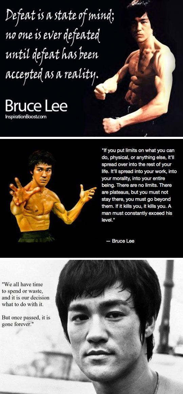 Sprüche Bruce Lee