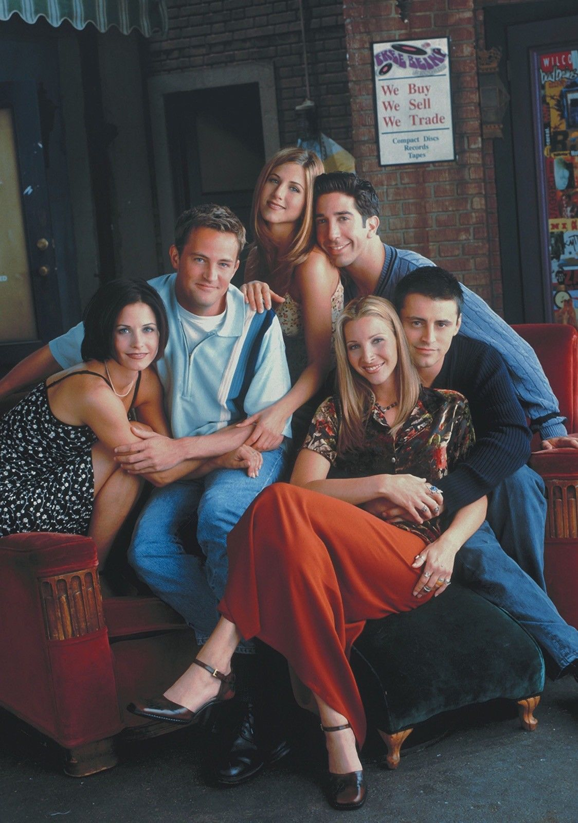FRIENDS TV Show PHOTO Print POSTER Series Cast Art Jennifer Aniston Rachel