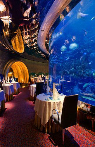 under the sea underwater restaurants and hotels arabian rh pinterest com