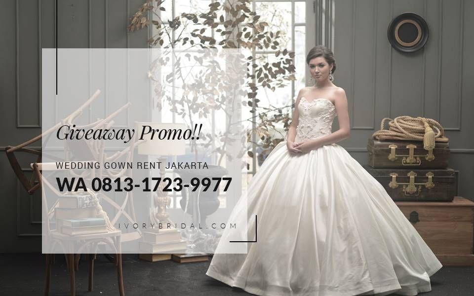 Wedding Gown Rental In Jakarta, Tempat Sewa Baju Pengantin Jakarta ...