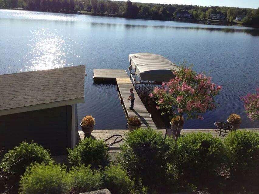Summer At The Lake Newton Lake Pa Pennsylvania