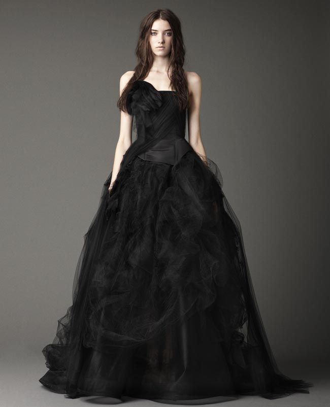 Jocelyn Black Wedding Gown By Vera